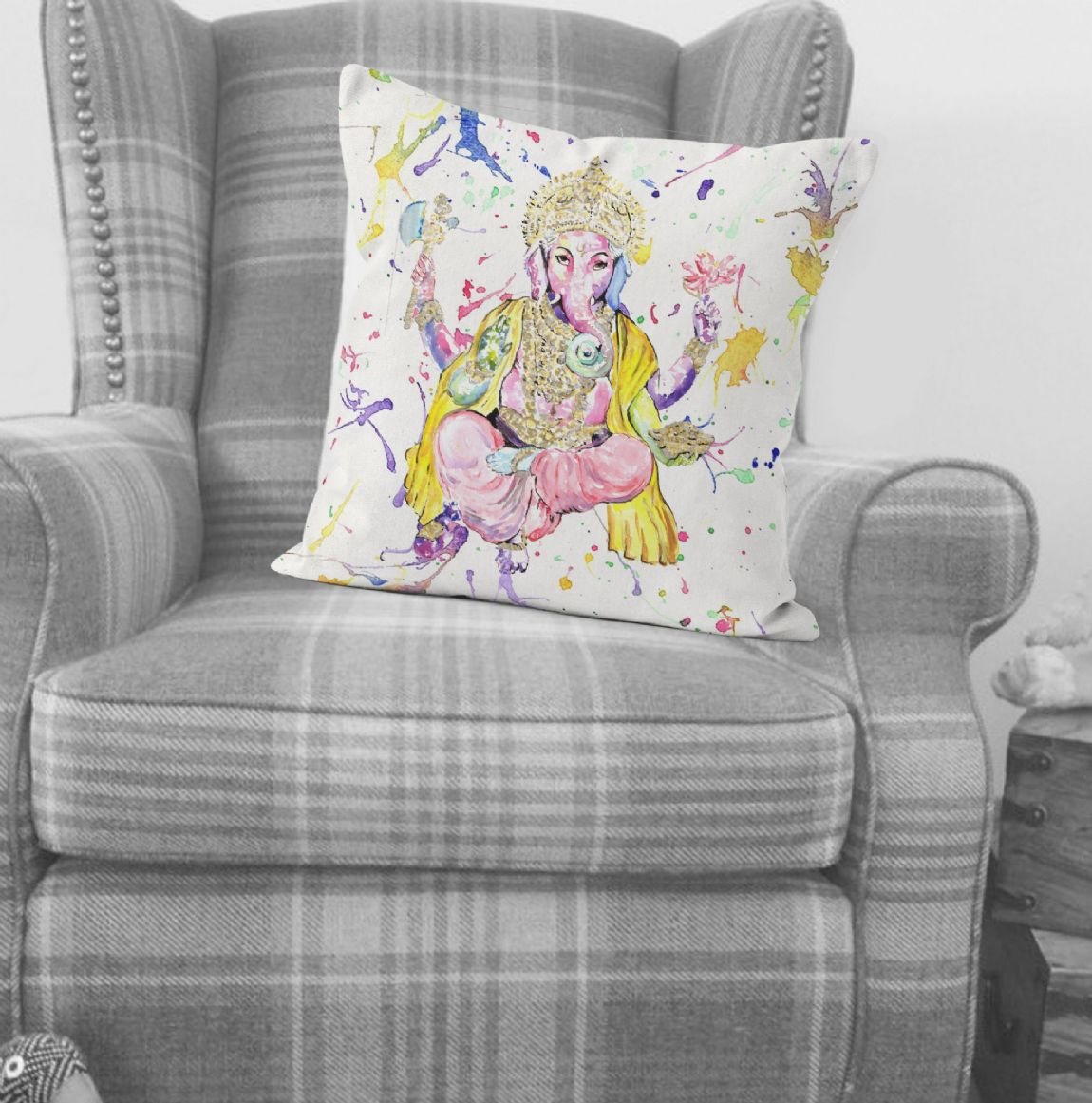 Cushion ( (Ganesh)